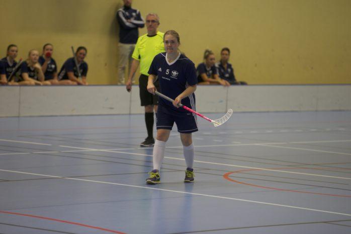 Ann-Sofie Hellvard gjorde Ales första mål i förlustmatchen mot IBK Göteborg. Arkivfoto.