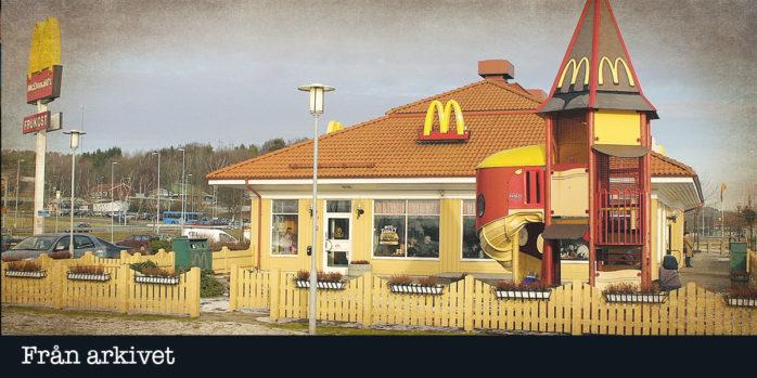Det har gått 20 år sedan Mcdonalds öppnades i Nödinge.