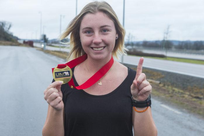 Emma-Nellie Örtendahl vet nu hur guld smakar. I december tog hon sitt andra raka VM-guld i jetski.