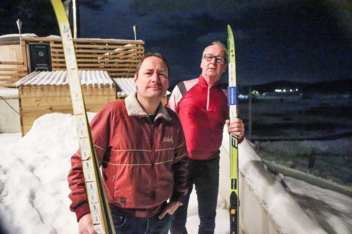 Claes-Göran Claesson och sonen Niklas från OK Alehof gör sitt 42:e- respektive 23:e Vasalopp på söndag.