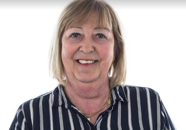 Monica Samuelsson, 62, är Socialdemokraternas kandidat till kommunalråd.