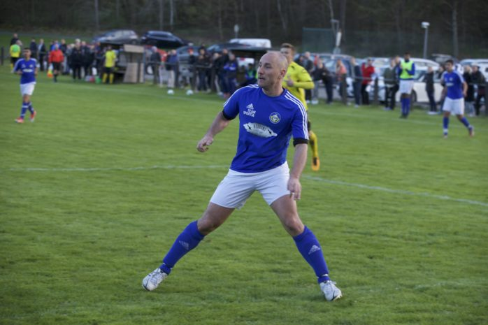 Jonny Stenström gjorde det matchavgörande målet mot Floda. Arkivbild.