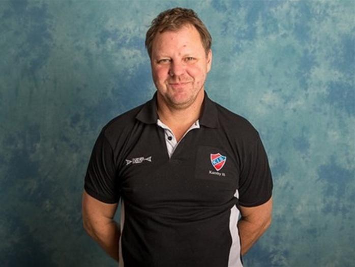 Martin Carlström är ny huvudtränare i Surte BK. Foto: Gert Holmér.