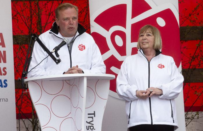 Björn Norberg, ordförande i Socialdemokraterna, lämnade idag lugnande besked om Fridhems framtid.