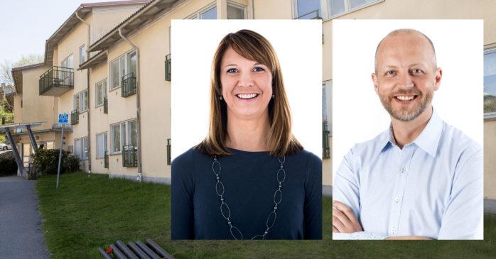 Kommunalråden Paula Örn (S) och Mikael Berglund (M) är båda kritiska till hanteringen av Fridhem.