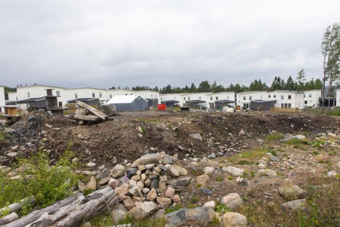 Vid områdetmellan Skogsråets väg, Kronaskolan och Alvernas väg planerar kommunen att bygga nya LSS-boenden.