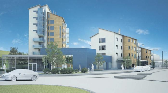 Ale kommun har återupptagit arbetet med detaljplanen för Gustavas plats, där Serneke avser att bygga cirka 120 nya lägenheter.
