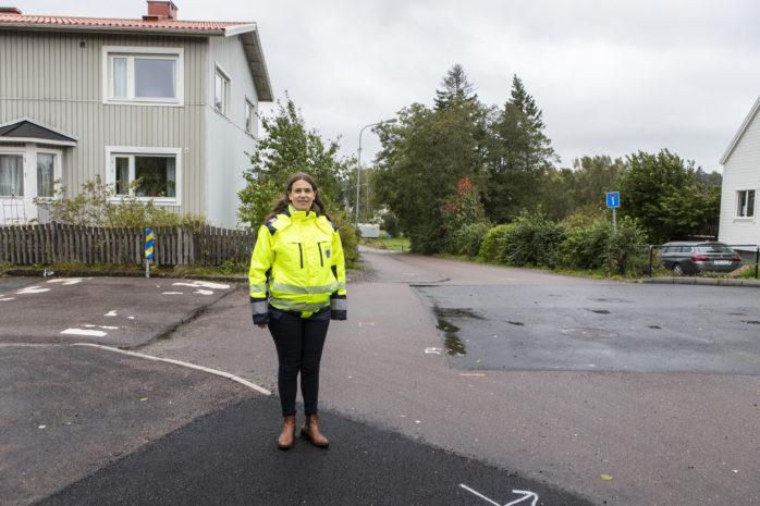 I korsningen Gamla vägen/Hövägen i Älvängen påbörjas nu ett projekt som innebär en säkrare gång- och cykelpassage.