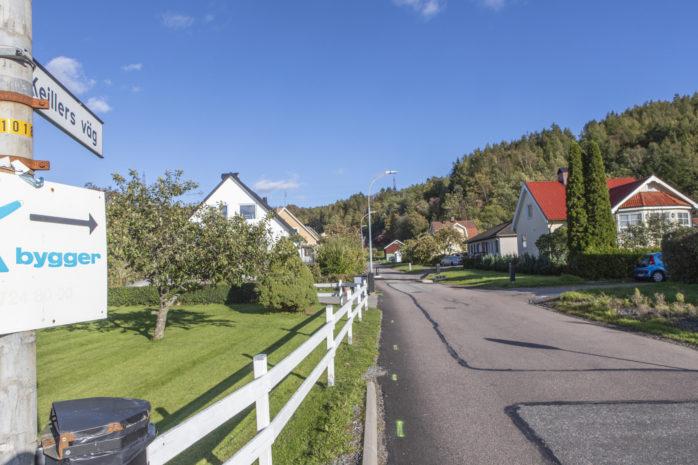 Keillers väg i Surte kommer att stängas av för trafik från vecka 41 och fram till sommaren.