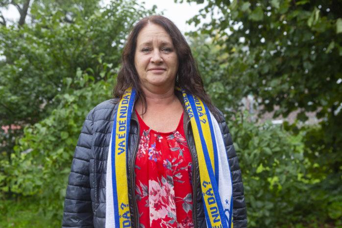 Anki Engströms hjärta klappar för Surte BK. Nu är hon ny ordförande i klubben.