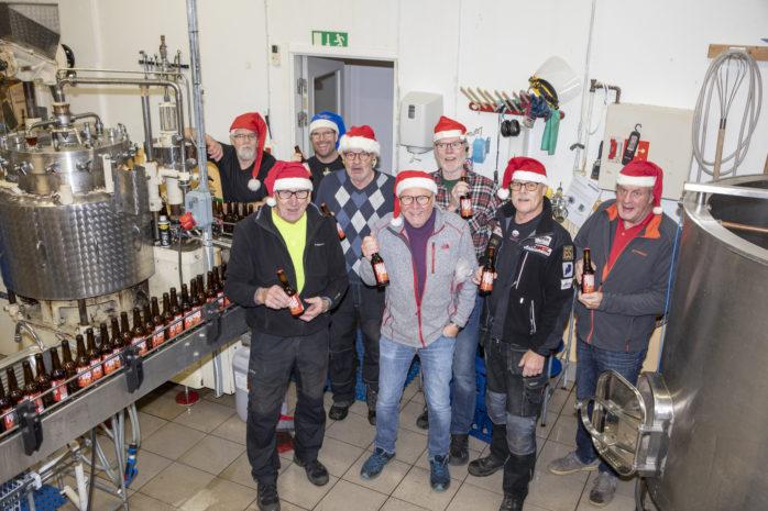 Ahlafors Bryggerier har framställt ett nytt julöl, som har försäljningsstart på Systembolaget måndagen den 3 december.