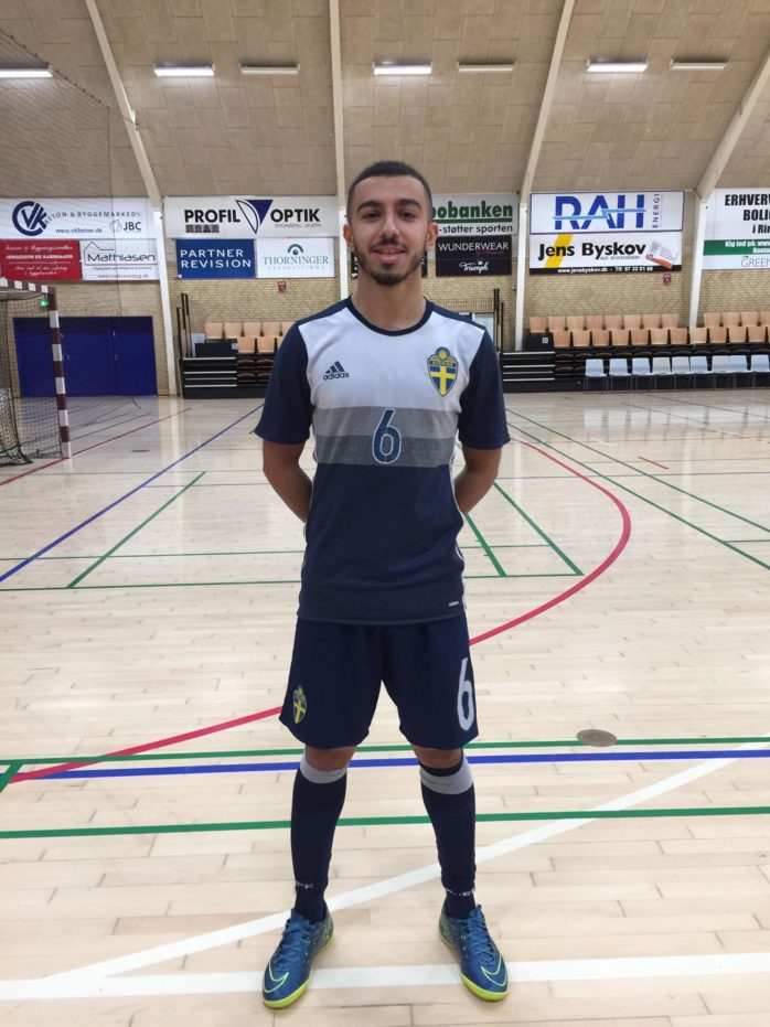 Miran Tilako gjorde mål i landslagsdebuten.