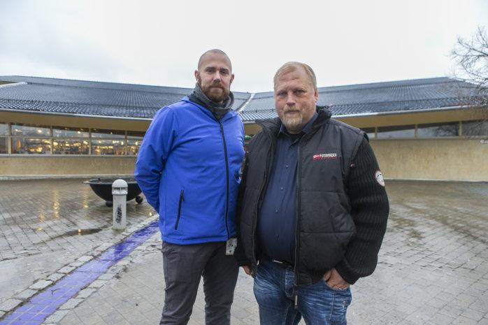 Johnny Sundling (S), vice ordförande i Utbildningsnämnden, och ordförande Erik Liljeberg (M) står inför många utmaningar.