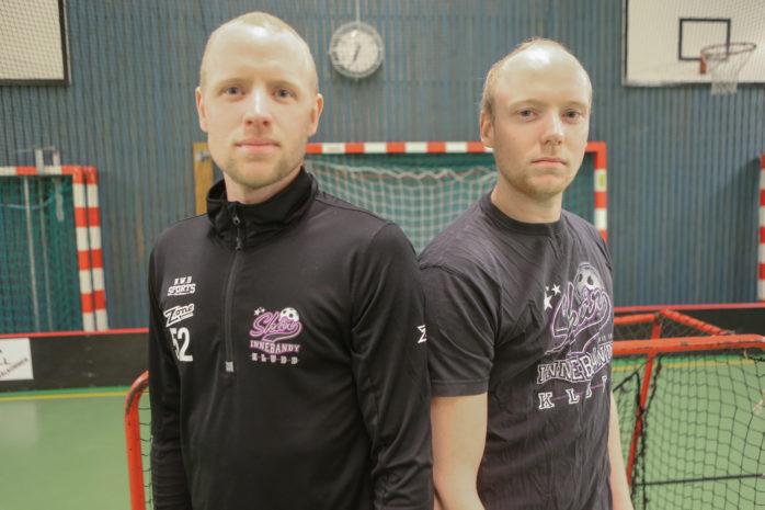 Bröderna Mattias och Christian Hansson slåss i toppen av poängligan trots att Skår inte är ett topplag i division 4.
