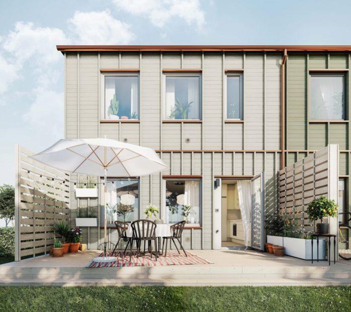 Slutsålt. 33 nya radhus ska uppföras i Svenstorp med byggstart i mars i år. Projektet är slutsålt.