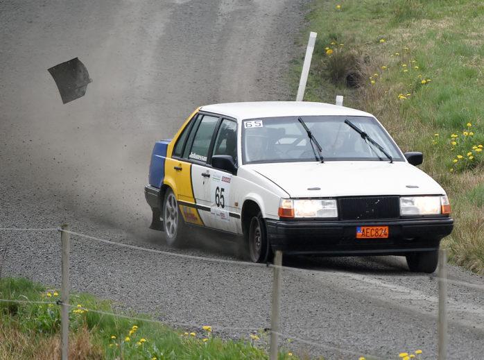 Rallytävlingen Aleknixen ställs in. Arkivfoto: Allan Karlsson.