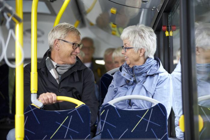 Från och med den 1 juni erbjuds fria resor dygnet runt för seniorer i Ale. Foto: Thomas Harrysson