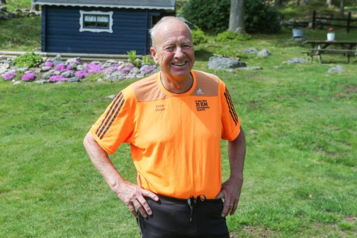 Folke Olsson från Alafors sprang sitt 40:e Göteborgsvarv i lördags och 71-åringen siktar nu på att springa nästa år igen.