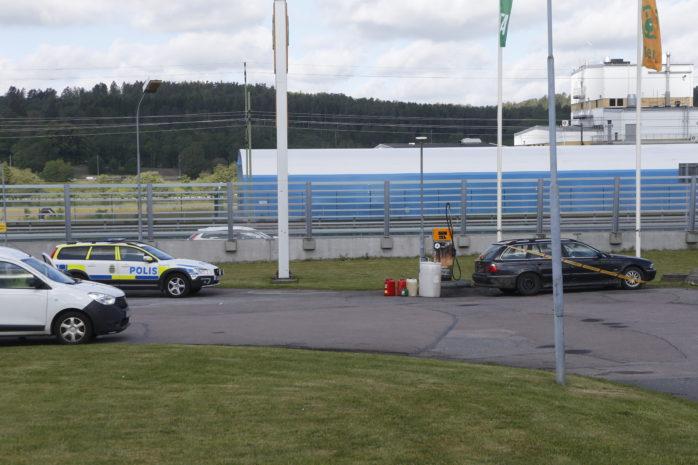 En man i 30-årsåldern greps för en dieselstöld i Bohus.