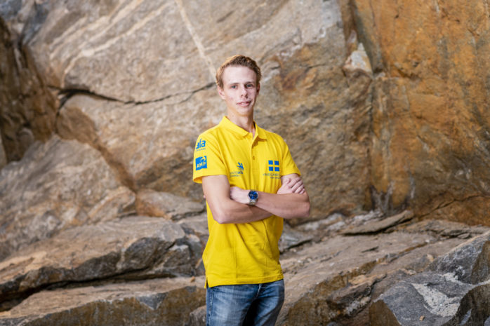 David Andersson från Lödöse tävlar i Yrkes-VM 2019 som avgörs i Kazan. Han gör det i kategorin trädgårdsanläggning.