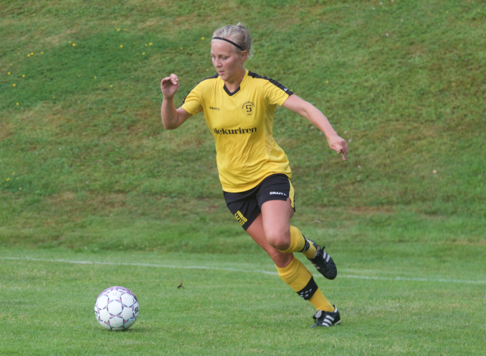 Amanda Errind och hennes Skepplanda förlorade mot Ytterby.