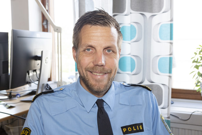 Christian Nylén är ny polischef i Kungälv/Ale.