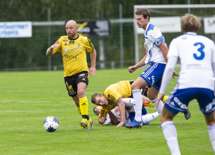 Kalle Hamfeldt är tillbaka efter skada. På lördag kan han leda AIF till serieseger i division 3 mellersta Götaland.
