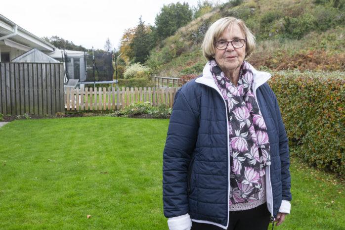 Ann-Mari Meuller nyttjar i dag yttre hemtjänst och är bekymrad över att tjänsten planeras att tas bort.