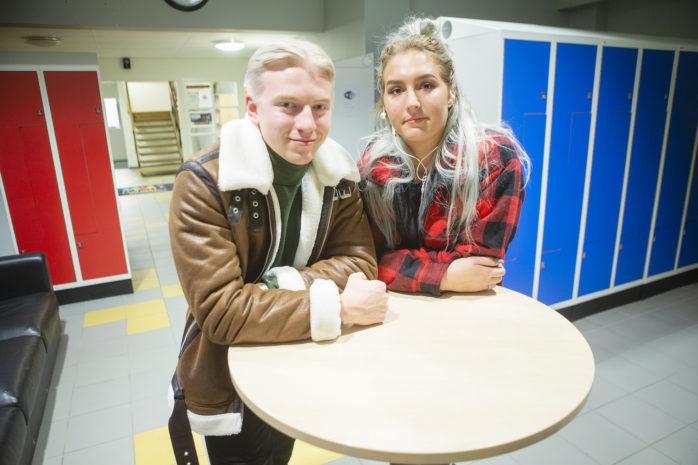 Oliver Andersson och Alexandra Sjöberg har gått olika vägar efter sin tid på Lärlingsgymnasiet.