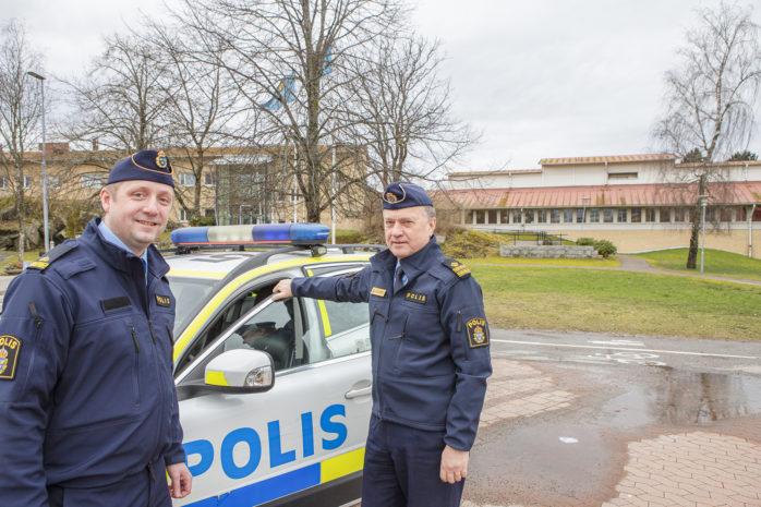 Victor Prästbacka blir ny kommunpolis i Lilla Edet efter Jack Lennartsson.