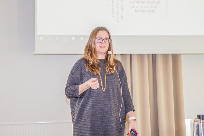 Näringslivschef Daniela Ölmunger.