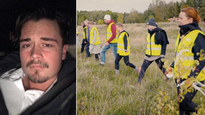 Missing People har anslutit i sökandet efter försvunna Andreas.