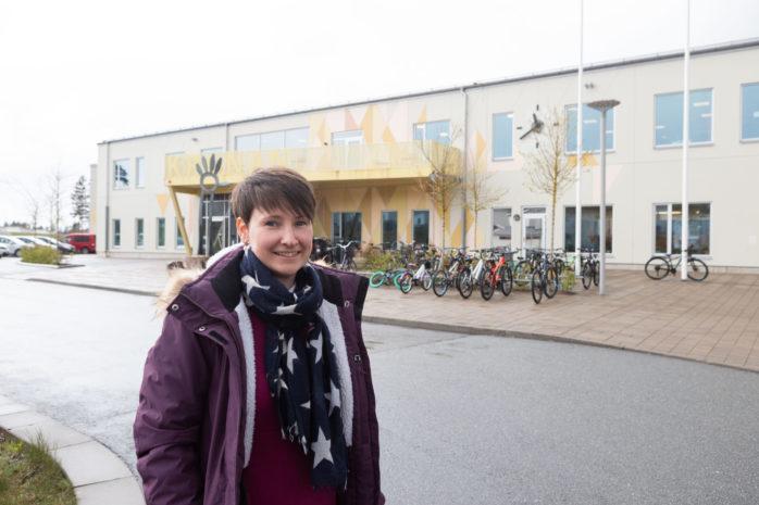 Melanie Tippmann är ny rektor på Kronaskolan, F-3.