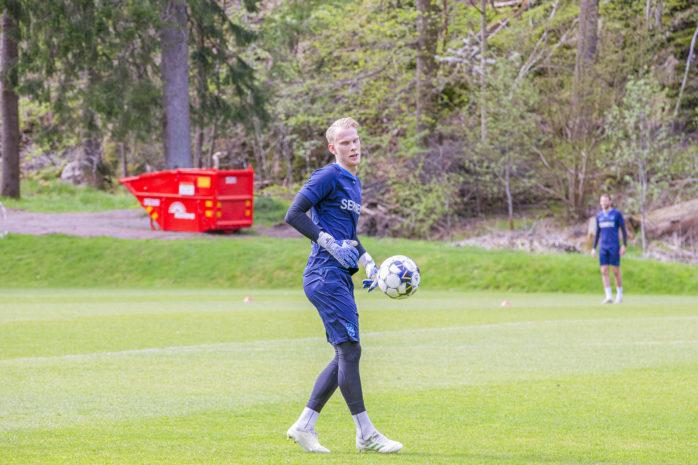 Pontus Dahlberg, som tidigare har spelat för IFK Göteborg, är nu klar för BK Häcken. Arkivbild: Kristoffer Stiller.