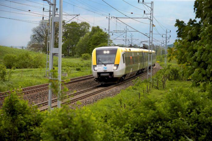 Tågtrafiken påverkas av arbeten under vecka 21.  Foto: Thomas Harrysson