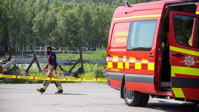 En person har hittats avliden i Göta älv. Foto: Linus Olsson.