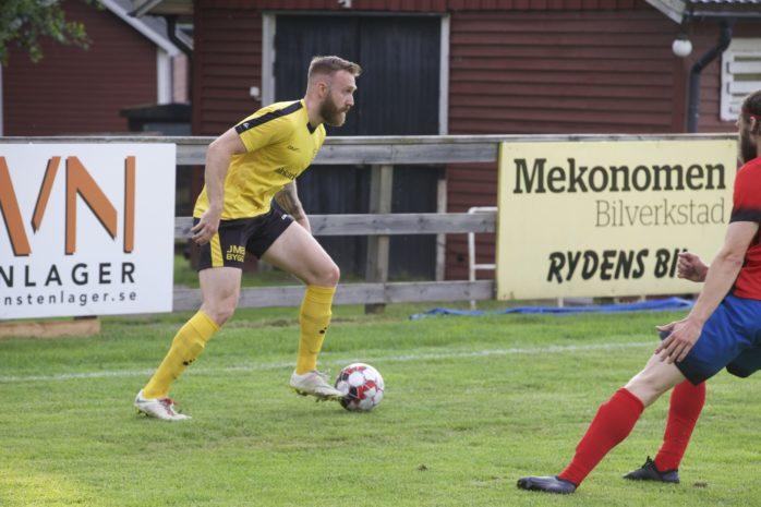 Robin Andersson fixade en poäng till Skepplanda BTK. Arkivbild.