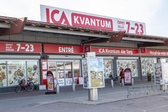 ICA Kvantum kommer att växa i befintligt läge. 300 kvm större ska butiken bli på sikt.