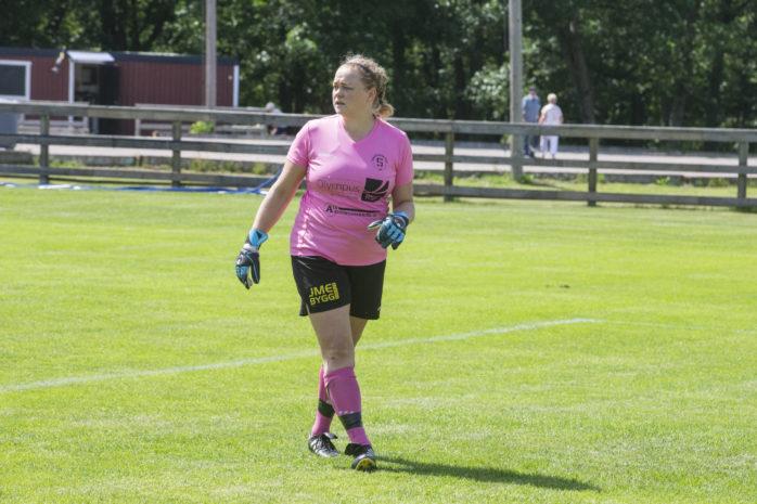Ann-Sofi Råneby Johannesson stod för en stabil insats i målet. Arkivbild.