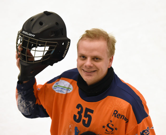 Målvakten Jakob Hugoh återvänder till Surte BK. Arkivbild: Allan Karlsson.
