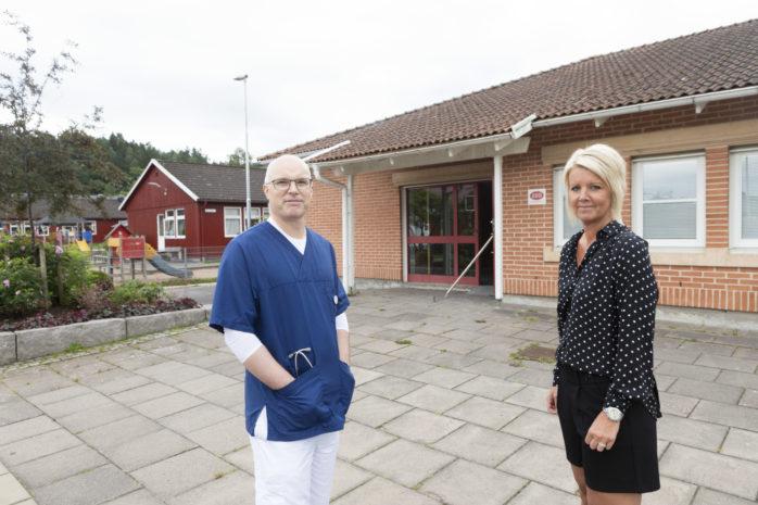 Karin Svensson och Mikael Spetz, som idag driver Älvängens Läkarhus, utvecklar verksamheten genom att den 1 november öppna Skepplanda Läkarhus på Albotorget.