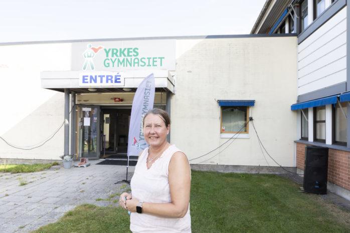 Malin Luukinen tillträdde som rektor 2008 och tolv år senare är hon med när Lärlingsgymnasiet i Ale byter ägare och namn till Yrkesgymnasiet Ale. Skolan drivs numera av Thorengruppen.