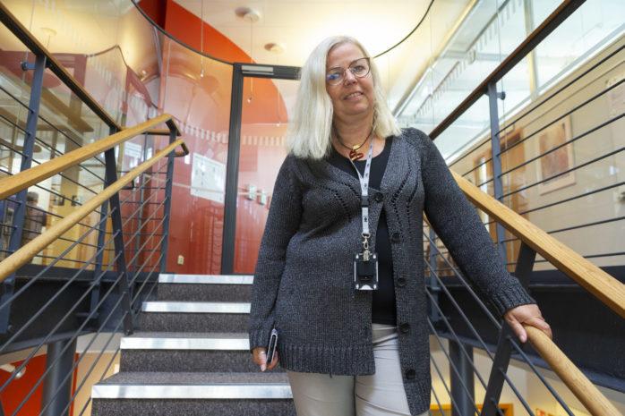 Maria Reinholdsson har gjort sitt första år som kommunchef i Ale. Det har mest kretsat kring krishantering på grund av coronapandemin.