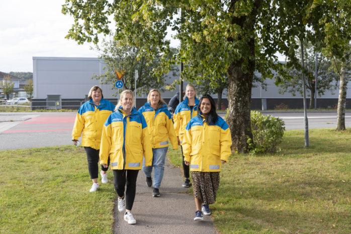 Nattvandrargrupper finns i Nödinge/Nol samt Älvängen. Engagerade vuxna är ett stöd för ungdomarna och bidrar till ökad trygghet i samhället.