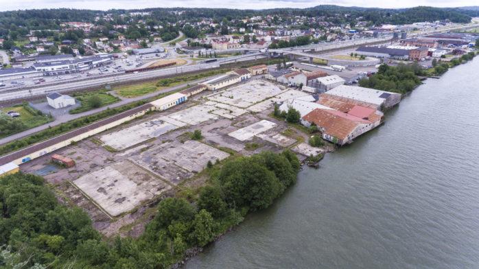 Carlmarks tidigare industriområde måste saneras.