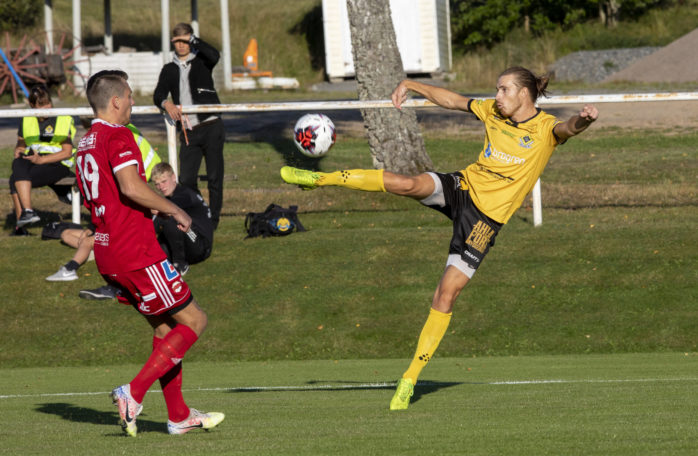 Cornelis Leckborn har nu gjort 13 mål på 12 matcher och toppar skytteligan i division 2 norra Götaland. Arkivbild