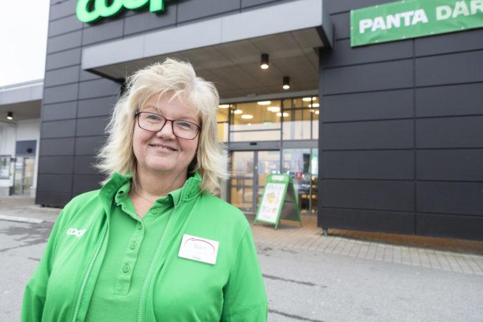 Sari Laesker har intagit rollen som butikschef på Coop Älvängen.