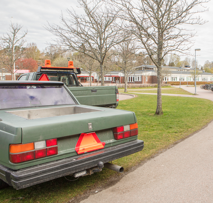 En motorträff planeras att anordnas på parkeringen utanför DollarStore på Handelsplats Älvhem. Arkivbild: Jonas Andersson.