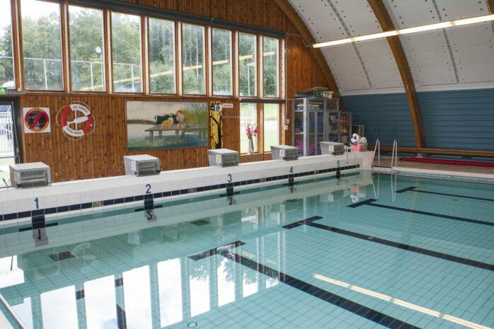 Den 1 februari öppnar Skepplanda simhall för förenings-och skolverksamhet.