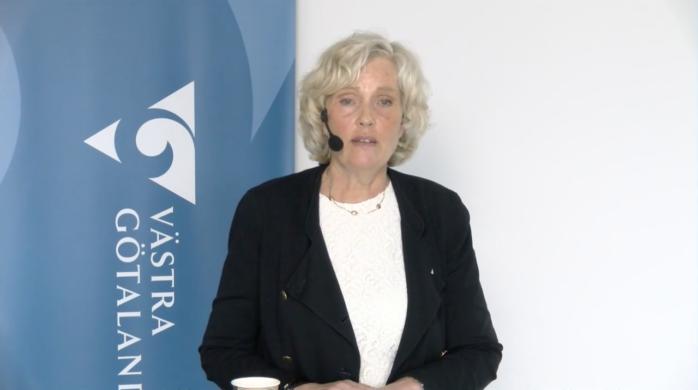 Ann Söderström, hälso- och sjukvårdsdirektör i Västra Götaland.